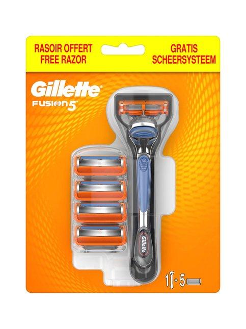 Fusion5 Manual Shaver -partahöylä + 5 vaihtoterää