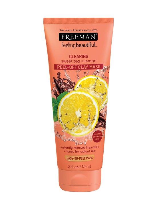 Freeman - Clearing Peel-off Clay Mask Sweet Tea & Lemon -kasvonaamio 175 ml - NOCOL | Stockmann - photo 1