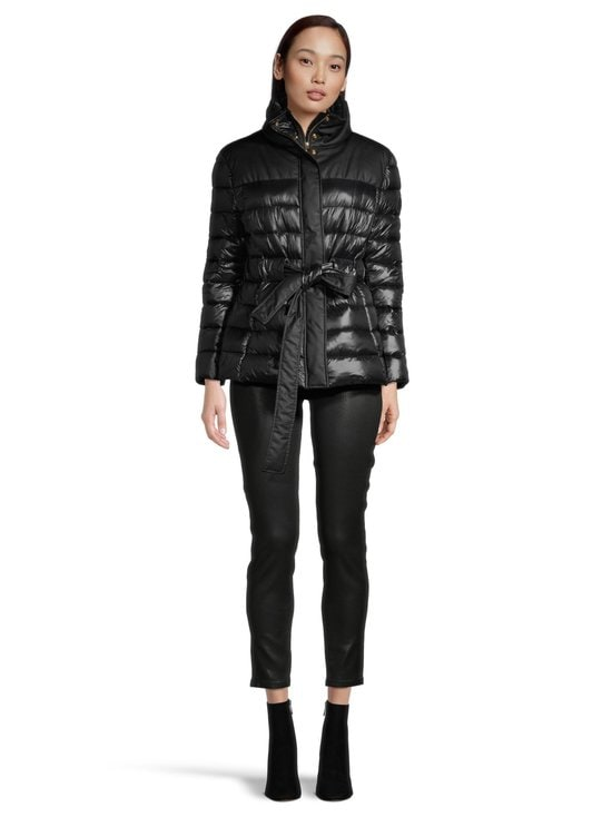 Trussardi Jeans - Sophie 208 Leather Effect -farkut - K299 BLACK | Stockmann - photo 4