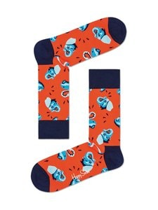 Happy Socks - Clean Elephant -sukat - 4300-ORANGE | Stockmann