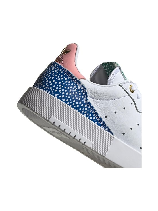 adidas Originals - W Supercourt -nahkasneakerit - CLOUD WHITE/LEGEND INK/GLOW PINK | Stockmann - photo 8