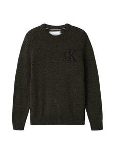 Calvin Klein Jeans - Twisted Yarn CK Logo Sweater -neule - LDD DEEP DEPTHS | Stockmann