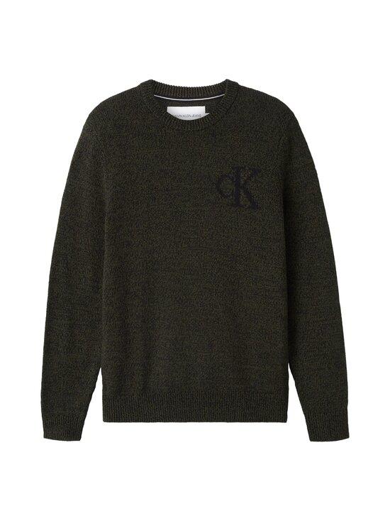 Calvin Klein Jeans - Twisted Yarn CK Logo Sweater -neule - LDD DEEP DEPTHS | Stockmann - photo 1