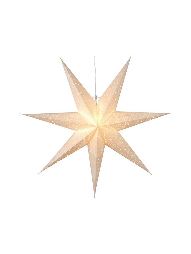 Hanging Paper Star Sensy -koristevalo 70 x 70 x 16 cm