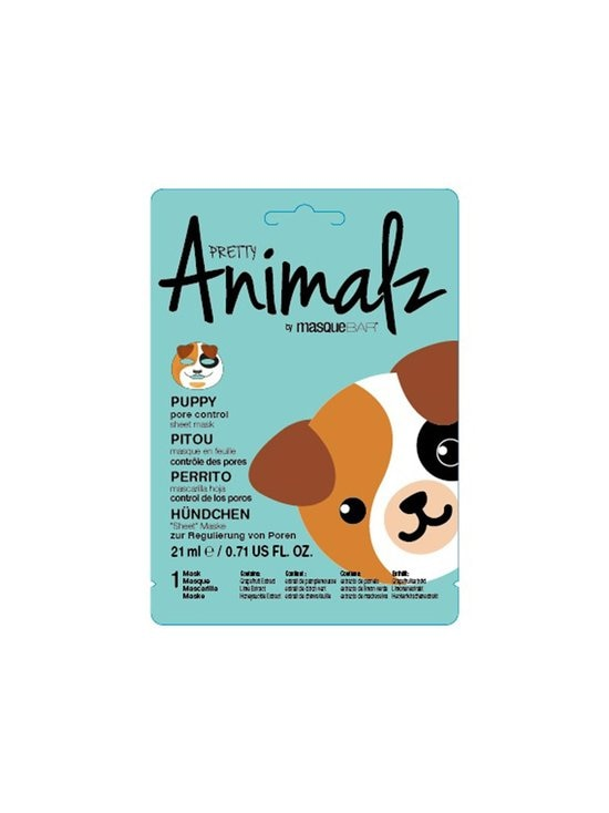 Masque Bar - Animalz Puppy Sheet Mask -kasvonaamio - NOCOL   Stockmann - photo 1