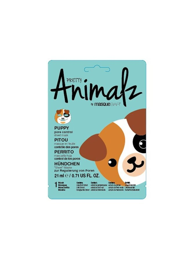 Animalz Puppy Sheet Mask -kasvonaamio