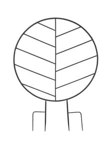 Wikholm Form - Lexi Support Round -kasvituki 65 x 89 cm - BLACK MATT   Stockmann