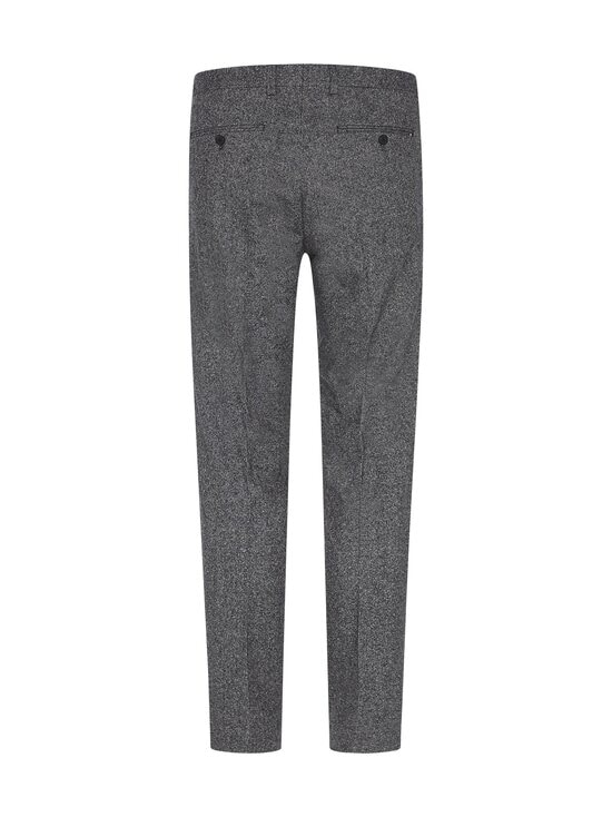 Tommy Hilfiger Tailored - TH Flex Flecked Slim Fit -housut - 0GU BLACK/ECRU MELANGE | Stockmann - photo 2