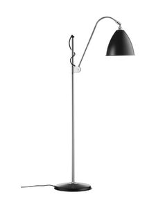 Gubi - Bestlite BL3 Floor Lamp Medium -lattiavalaisin - BLACK SEMI MATT | Stockmann