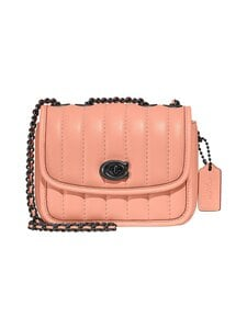 Coach - Quilted Leather Madison -nahkalaukku - V5/FADED BLUSH | Stockmann