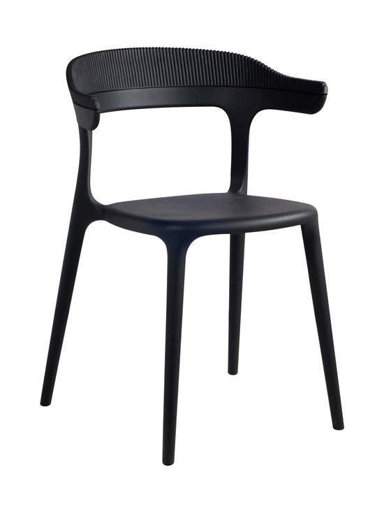 Muubs - Luna Stripe -tuoli 51 x 77 x 51 cm - BLACK | Stockmann - photo 1