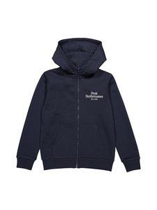 Peak Performance - JR Original Zip Hood -huppari - BLUE SHADOW | Stockmann