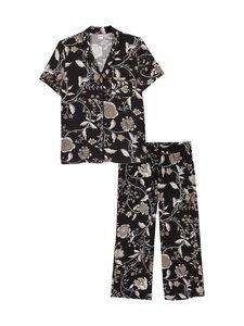 NOOM loungewear - Amanda-pyjama - GREY FLOWER PRINT | Stockmann