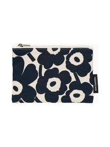 Marimekko - Kaika Mini Unikko -pussukka - 851 COTTON, DARK BLUE | Stockmann