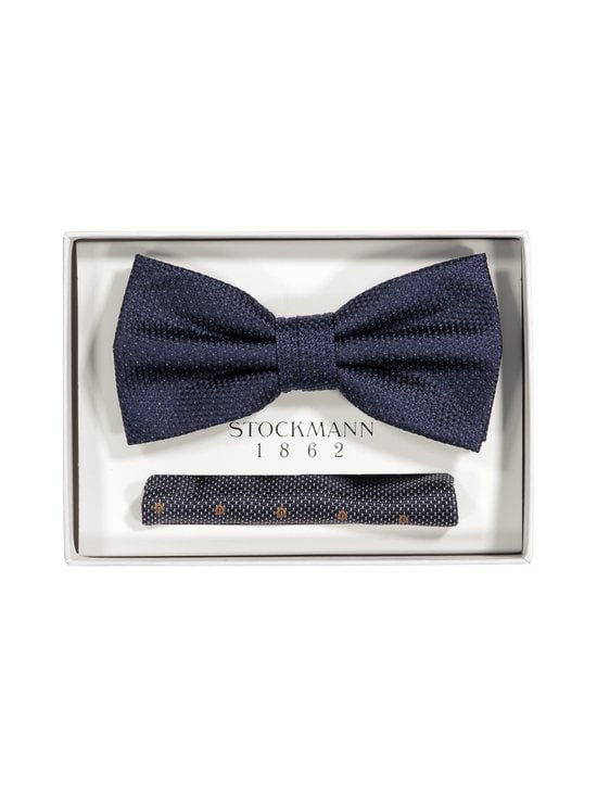 Stockmann 1862 - Silkkirusetti ja -taskuliina - NAVY | Stockmann - photo 1