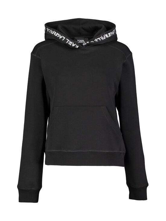 Karl Lagerfeld - Graffiti Logo Hoodie -huppari - 999 BLACK | Stockmann - photo 1