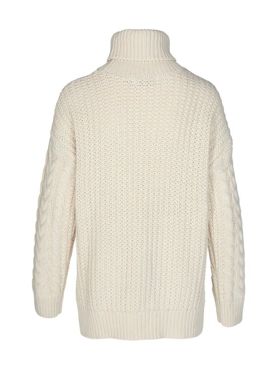 Big Polo Neck Cable Knitted -neule