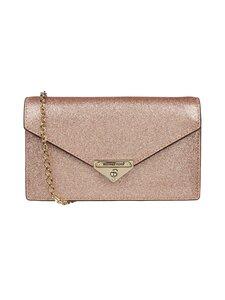 Michael Michael Kors - Grace Medium Glittered Leather Envelope Clutch -laukku - 674 ROSE GOLD | Stockmann
