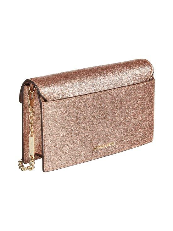 Michael Michael Kors - Grace Medium Glittered Leather Envelope Clutch -laukku - 674 ROSE GOLD   Stockmann - photo 2