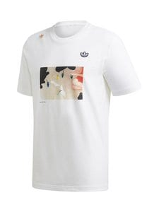 adidas Originals - Samstag Photo T -paita - WHITE | Stockmann