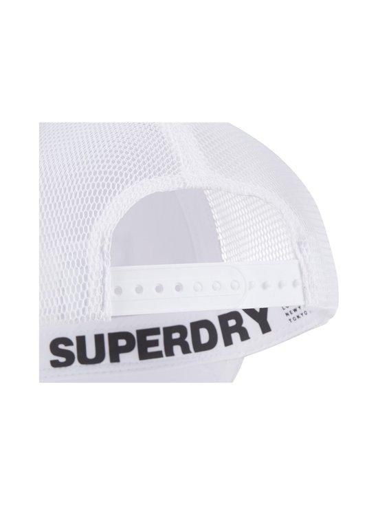 Superdry Sport - Sport Cap -lippalakki - 01C OPTIC | Stockmann - photo 2