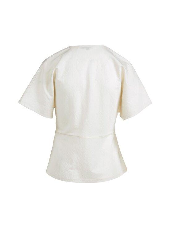 cut & pret - Tessa Wrap Jersey Top cut -paita - OFFWHITE | Stockmann - photo 2