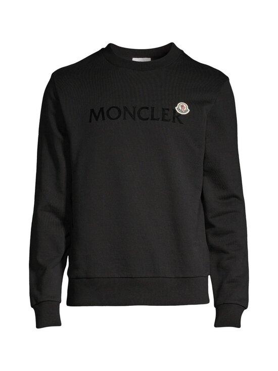 Moncler - 809KR-collegepaita - 999 BLACK | Stockmann - photo 1