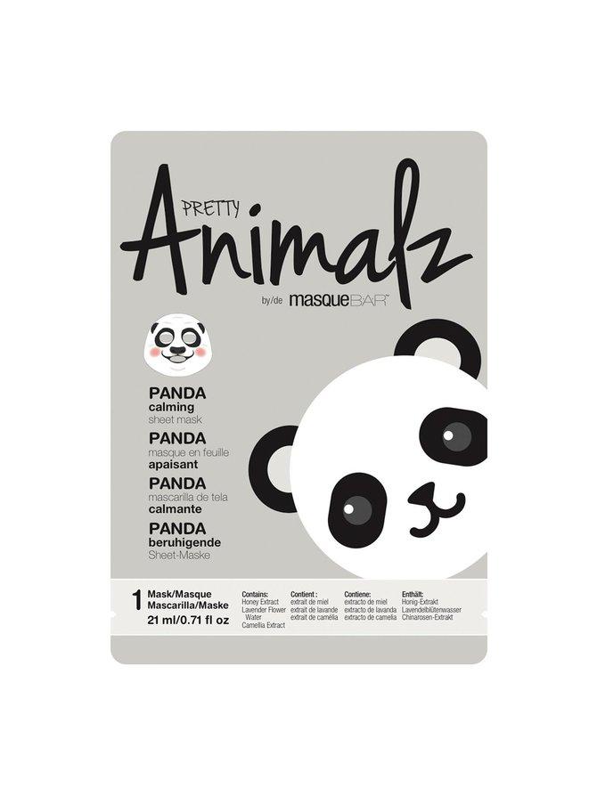 Pretty Animalz Panda Mask -kangasnaamio 21 ml