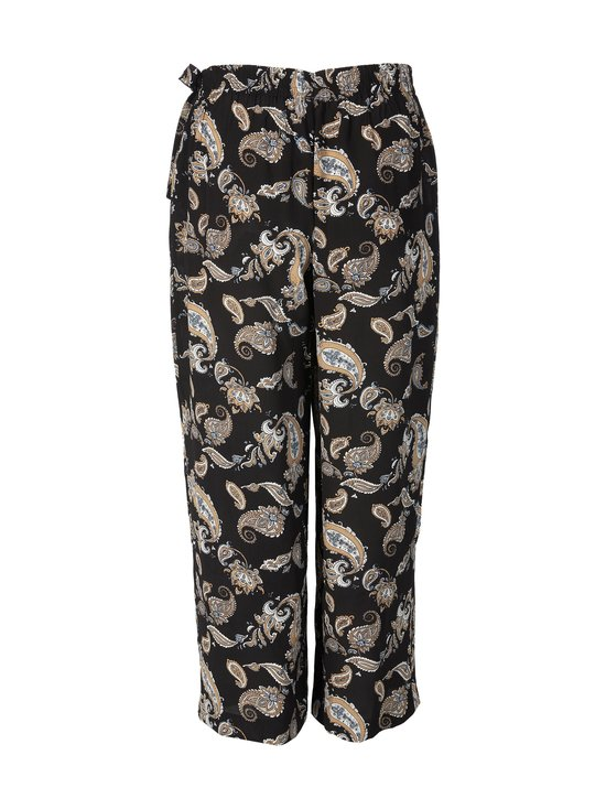 cut & pret PLUS - Teresa Plus Printed Wide -housut - BLACK PAISLEY PRINT | Stockmann - photo 2