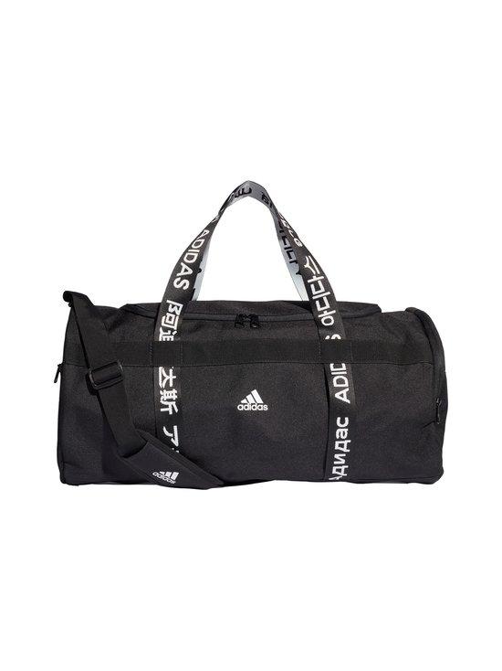 adidas Performance - 4ATHLTS Duffel Bag Medium -laukku - BLACK/BLAC BLACK/BLACK/WHITE   Stockmann - photo 1