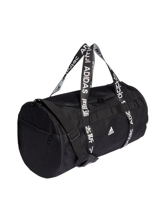 adidas Performance - 4ATHLTS Duffel Bag Medium -laukku - BLACK/BLAC BLACK/BLACK/WHITE   Stockmann - photo 2
