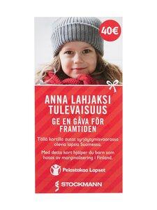 Pelastakaa Lapset Ry - Lahjoitus Pelastakaa Lapset ry:lle 40 € - null | Stockmann