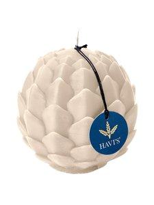 Havi's - Artichoke-kynttilä 9 x 10,5 cm - SAND | Stockmann
