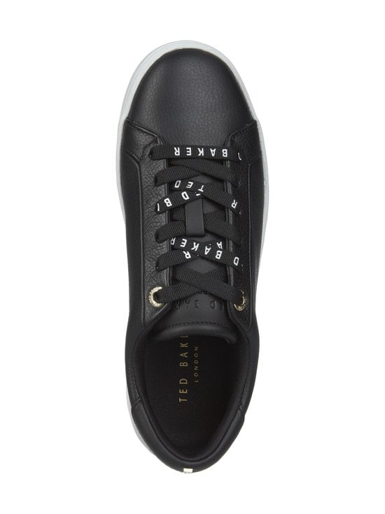 Ted Baker London - Merata Webbing Detail Leather Trainers -nahkatennarit - 00 BLACK | Stockmann - photo 2