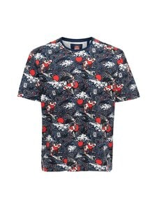 Only & Sons - OnsNiki Life Reg Aop Tee -paita - STAR WHITE | Stockmann