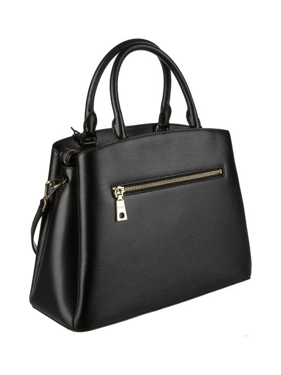 Dkny - Paige Large Satchel -nahkalaukku - BGD - BLK/GOLD | Stockmann - photo 2