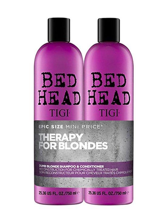 Tigi Bedhead - Bed Head Dumb Blonde Tweens -shampoo ja hoitoaine 2 x 750 ml - null | Stockmann - photo 1