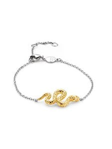 Ti Sento - Rannekoru - SILVER YELLOW GOLD PLATED | Stockmann