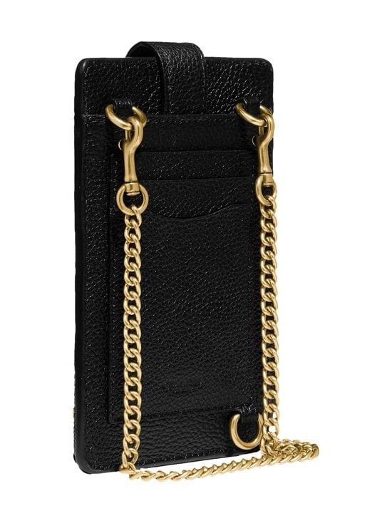 Coach - Turnlock Chain Phone Crossbody -nahkalaukku - B4/BLACK | Stockmann - photo 3