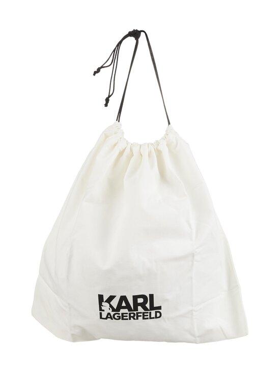 Karl Lagerfeld - K/Signature Baguette Sparkle -nahkalaukku - A987 BLACK/SILVER | Stockmann - photo 3