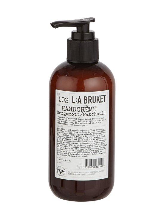 L:A Bruket - No 102 Bergamot/Patchouli -käsivoide 250 ml | Stockmann - photo 1