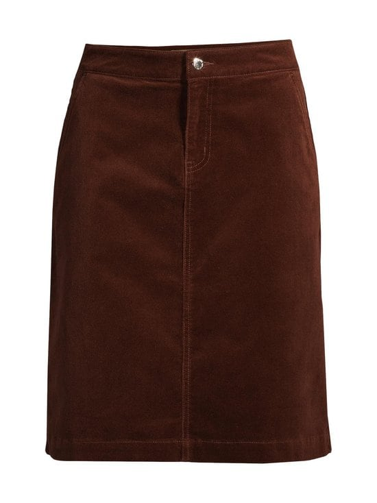 NOOM - Rania-vakosamettihame - MID BROWN | Stockmann - photo 1