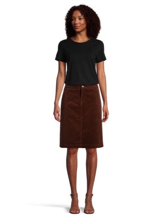 NOOM - Rania-vakosamettihame - MID BROWN | Stockmann - photo 2