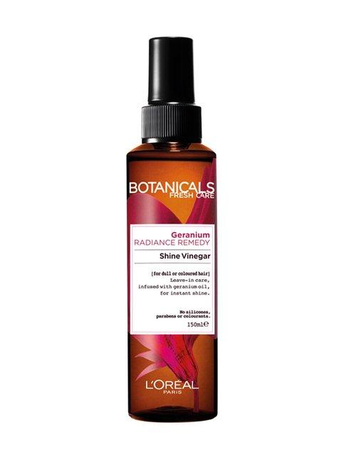 Geranium Radiance Remedy -kiiltosuihke värjätyille hiuksille 150 ml