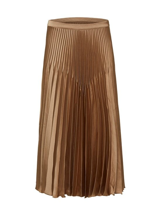 Selected - SlfHarmony MW Midi Pleated Skirt -hame - TIGERS EYE | Stockmann - photo 1