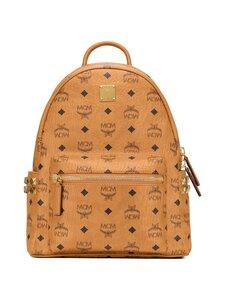 MCM - Stark Side Studs Backpack in Visetos -reppu - COGNAC   Stockmann