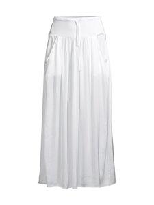 Deha - Satin Long Skirt -hame - 10001 WHITE | Stockmann