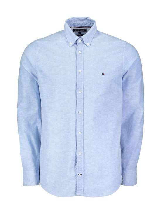 Tommy Hilfiger - Stretch Slim Oxford -paita - SHIRT BLUE (VAALEANSININEN) | Stockmann - photo 1