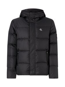 Calvin Klein Jeans - Hooded Down Puffer Jacket -untuvatakki - BAE CK BLACK | Stockmann