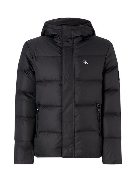 Calvin Klein Jeans - Hooded Down Puffer Jacket -untuvatakki - BAE CK BLACK | Stockmann - photo 1